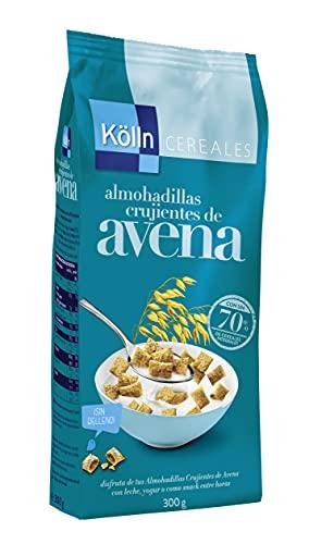 Kölln - Almohadillas De Avena Crujientes, Cereales Integrales, 70% Avena, Alto Contenido De Fibra - 300 G, Avena Integral