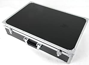 CNB PDC-410F MSBK Black Locking Aluminum Pedal Case, Large