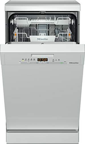 Miele G5430SC Freestanding Slimline Dishwasher, 7 Place Settings, White