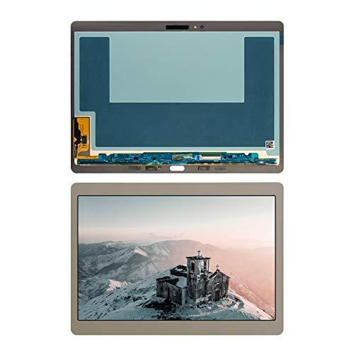 Kit de repuesto de pantalla de 10,5 pulgadas para Samsung Galaxy Tab S T800 T805 SM-T800 SM-T805 T807 pantalla LCD+kit de reparación de pantalla táctil (color: blanco)