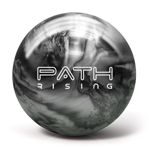 Pyramid Path Rising Bowling Ball (Black/Silver, 14lb)