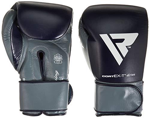 RDX Unisex's Boxing Pro con Guantes STP, Azul, 10 oz
