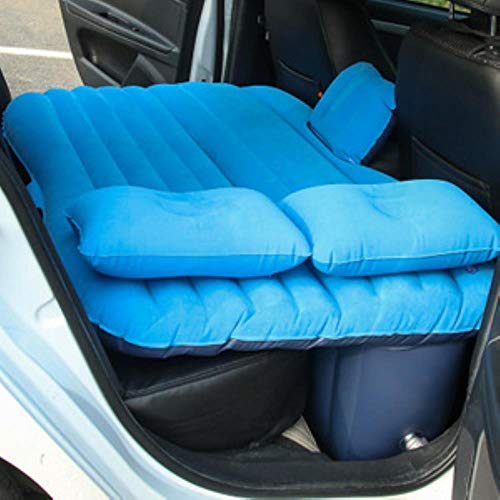 Auto Air Aufblasbare Reisematratze Bett Auto Rücksitz Matratze Multifunktions Sofa Kissen Outdoor Camping Matte Kissen