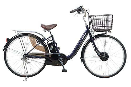完成車納品 PELTECH(ペルテック) 電動アシスト自転車 26インチ内装3段 TDF-14Z (ネイビー)
