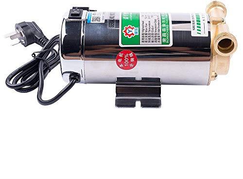 Kacsoo 100W Wasserdruckerhöhungspumpe, automatische Haushaltserhöhungspumpe für Duschhausgartenwaschmaschine - Edelstahl