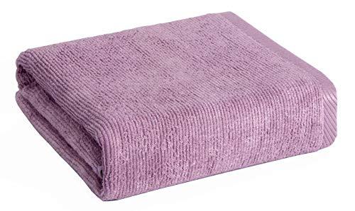 SANLI Toallas de baño de fibra de bambú Liso Antibacteriano Anti ácaros 2 veces la absorción de agua Buena transpirabilidad Secado rápido Sin grasa Sin duro Sin olor Sin desvanecimiento Púrpura 70x140