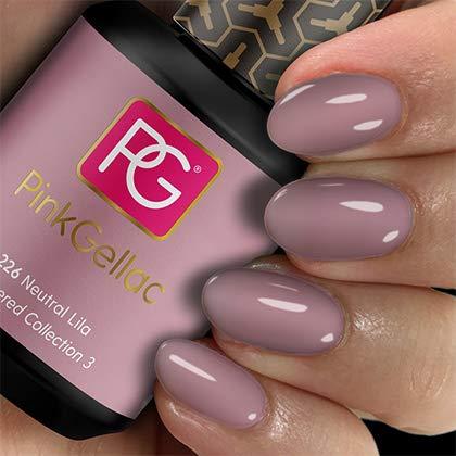 Color de pintauñas permanente Pink Gellac 226 Neutral Lila