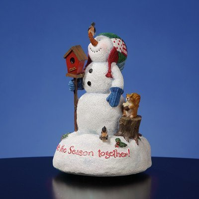 Celebrate the Season Together Figurine by San Francisco Music Box