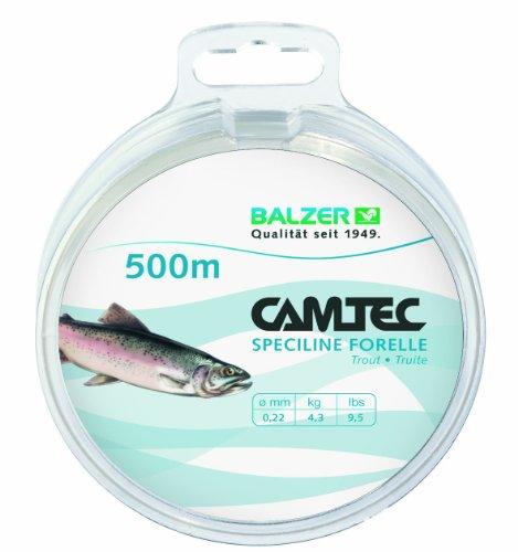 CAMTEC SPEZILINE Forelle Zielfischschnur 0,20mm 500m
