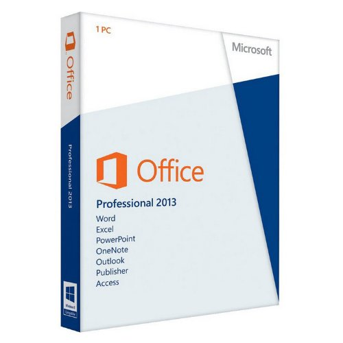 MS Office Pro 2013 32-bit/x64 Eurozone Medialess [import allemand]