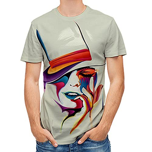SSBZYES Camisetas para Hombre, Camisetas De Verano De Manga Corta para Hombre, Camisetas De Gran Tamaño, Camisetas Estampadas para Hombre, Camisetas Casuales De Verano para Hombre