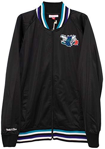 Mitchell & Ness Charlotte Hornets Top Prospect Black Track Jacket (2X-Large)