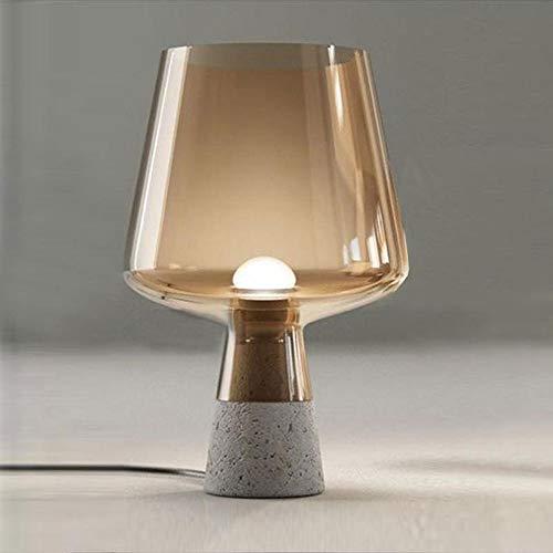 Lámpara De Mesa LED De Cristal De Noche For Dormitorio De Viento...
