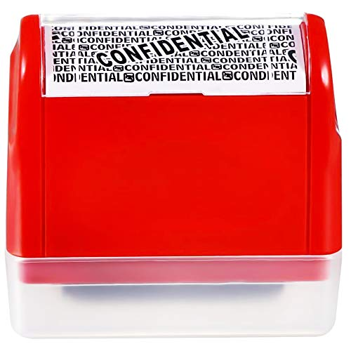 Naomo Sello de Rodillo, Sellos de Protección de Identidad para Seguridad de la Privacidad (Rojo)