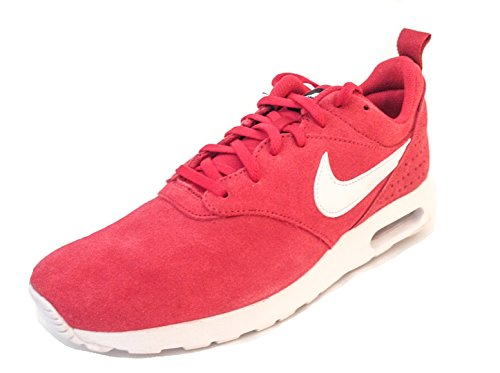 Nike Herren Air Max Tavas LTR Laufschuhe, Rot, Weiß (Gym Red White Black), 40 EU