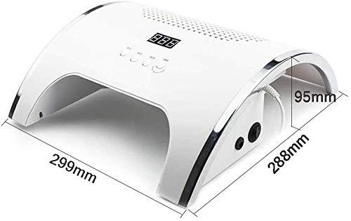 Ting Ting 80W Starke Power 2-IN-1 UV-LED mit Zwei leistungsstarken Ventilator 36 UV-LED-Nagel-Trockner-Nagel-Lampe & Staubabsaugung Maniküre Staubsauger Maniküre Werkzeuge 0211