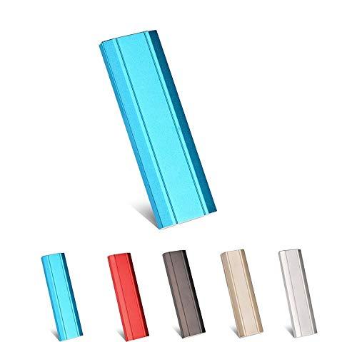 Disque Dur Externe 1to 2to USB 3.1 pour PC, Mac, Ordinateur de Bureaup,Ordinateur Portable,Chromebook, Xbox 360 (Blue-1TB)
