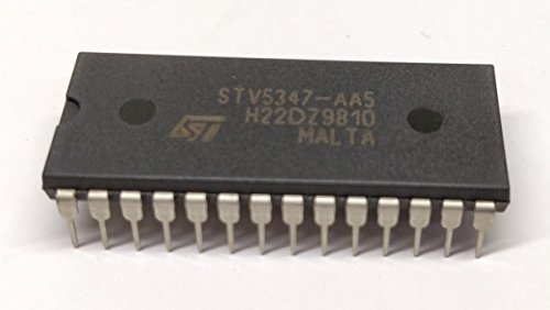 1 Stück STV5347 | MONOCHIP TELETEXT AND VPS DECODER | WITH 4 INTEGRATED PAGES | for West- European - Languages | STMicroelectronics | DIP28 Gehäuse