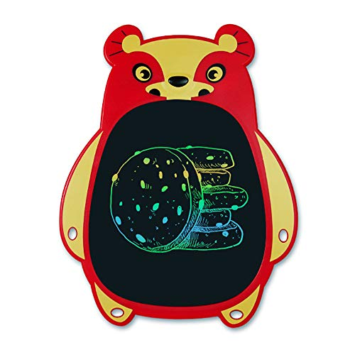 paomo Tableta de escritura LCD, tableta electrónica de 8.5 pulgadas, mini tablero de graffiti, ≥ 50.000 veces de escritura, bonito aspecto de oso, regalo para niños y adultos en casa, escuela, oficina