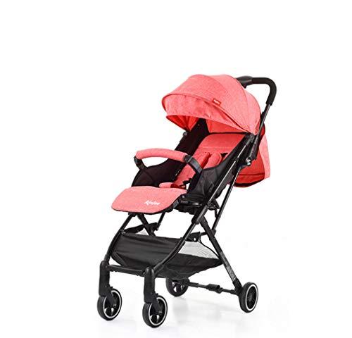 Kinderwagen, super licht, kan het vliegtuig meenemen, voor winkelen, one-stappen, geschikt voor kinderen van 0 tot 36 maanden.