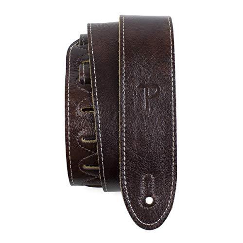 Perri's Leathers Ltd. - Guitar Strap - Italian Leather - Mahogany -...