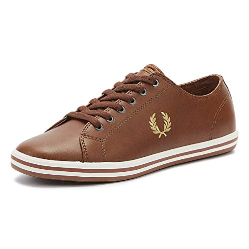Fred Perry Kingston Leather Tan-44