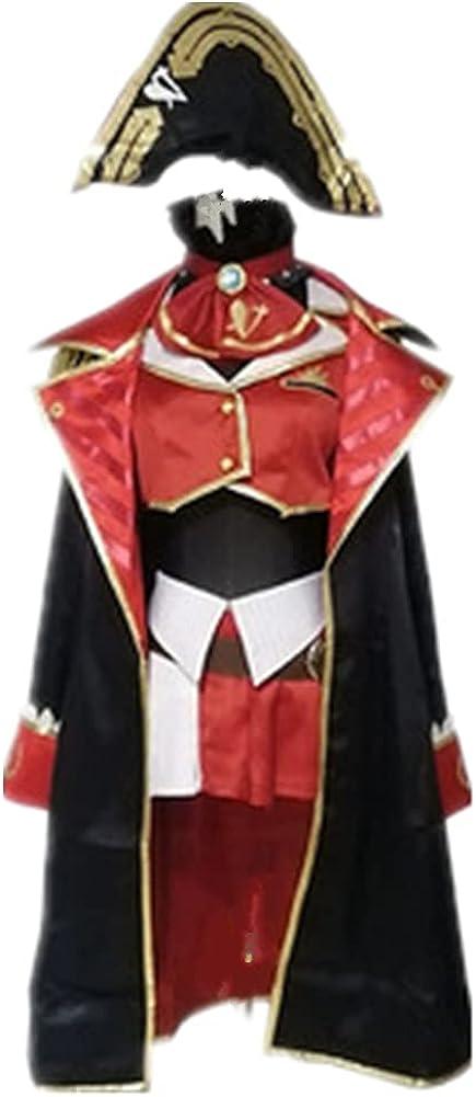 Limited Special Price VTuber Hololive Houshou Marine Captain Suit New popularity A Cute Uniform Dress