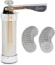 Cookie Press Machine Biscuit Maker Set with 20 Disc Shapes Stencils Model