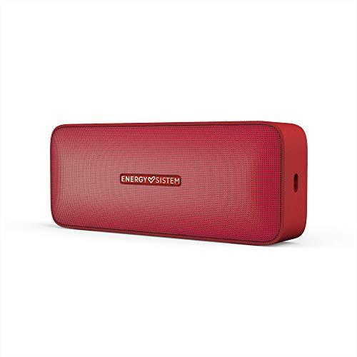 Energy Sistem Music Box 2 Altavoz portátil inalámbrico Cherry (Bluetooth 5.0, TWS, 6 W, Audio-in, Hands-Free) Rojo
