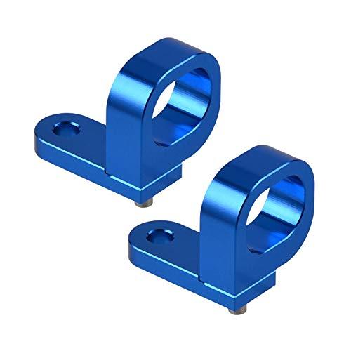 YOUPING ZHANGXI Hintere Bremsleitung Halter Kabelklemme Fit für Suzuki RM RMZ 125 250 450 RMX450Z DRZ 400 400E / S/SM DR650SE Vstrom 650 1000 RM125 RM250 (Color : Blue)
