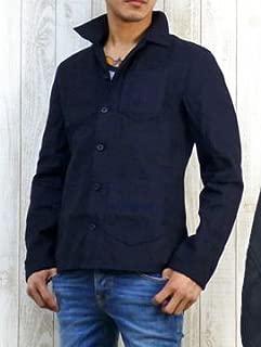 (ヌーディージーンズ)Nudie Jeans TRYGGVE ヘリンボーンデニム シャツジャケット 39161-5009