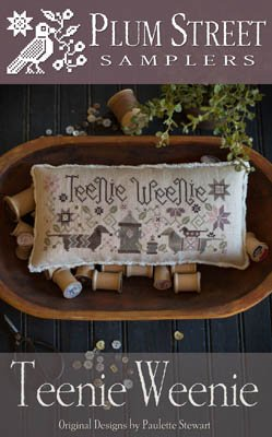 Tennie Weenie Cross Stitch Chart and Free Embellishment