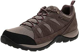 Columbia Men's Redmond V2 Hiking Shoe, Pebble/Dark Adobe, 11