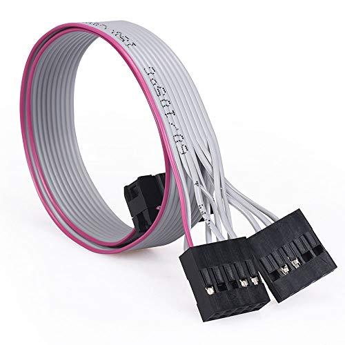 BIGTREETECH TFT24 Cable de interfaz CR10 a EXP 30 cm con enchufe de vaca simple hacen SKR Mini E3 V2.0 adecuado para impresora CR10 CR10S