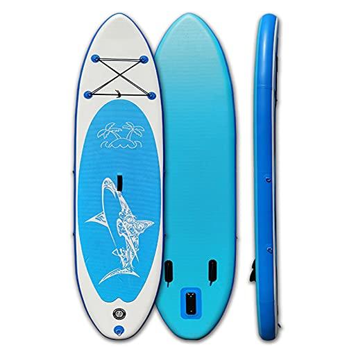 YTBLF Tabla De Remo Hinchable, Tablas hinchables de Paddle Surf Ligero Tabla De Remo Inflable para Adultos Isup Paquete Premium De Bote De Pie De Adolescentes Y Adultos