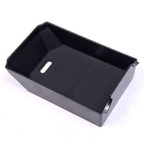 Pour MB GLK Classe X204 200 260 300 Glove Accoudoir Boîte de rangement Plateau avec tapis Noir accessoire Auto