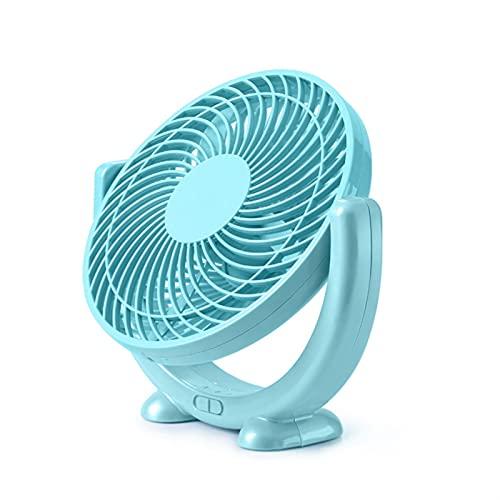 Mini Ventilador De Carga, Viento Portátil, Viento De 2 Velocidades, Diseño De Aire De 5 Cuchillas, Suministro De Aire De Gran Angular De 120 Grados, Refrigerador De Aire De Escritorio De Escritorio De