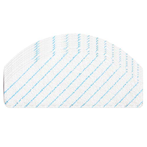 BIHARNT 100 Pack Disposable Mop Pads Compatible with Ecovacs Deebot OZMO T8,T8+,T8 AIVI,N8,N8+,N8 Pro,N8 Pro+,T9+,T9 Vacuum and Mop Robot Vacuum Cleaner