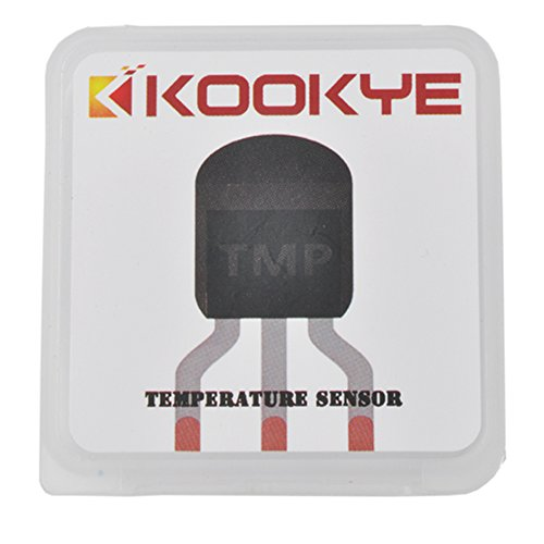 KOOKYE 5PCS Temperature Sensors TMP36 Precision Linear Analog Output For Arduino