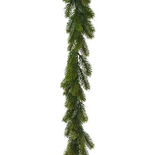 creativ home Künstliche Tannengirlande ca 180 cm (170 cm). Mit ca 115 Tannen- Trieben. 3017710-00