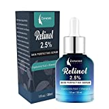Retinol Serum for Face and Skin, Anti Aging Serum Clinical Strength with Hyaluronic Acid for All Skin Types