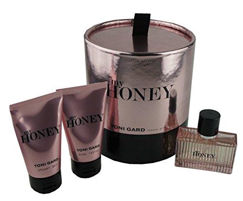 Preisvergleich Produktbild Toni Gard My Honey Set EdP 30ml - Shower Gel 50ml - Body Lotion 50ml - limitiert