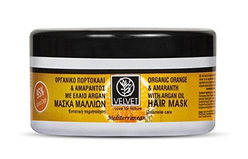 Mascarilla Velvet de Naranja, Amaranto y Aceite de Argan 250 ml