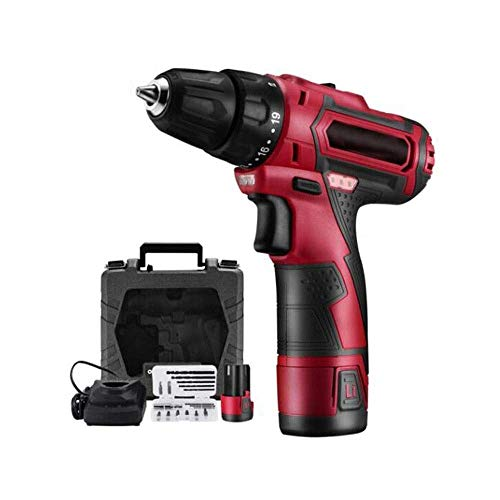 DIY & Tools Electric Screwdriver Cordless Drill, 12V Hand Drill, Lithium Drill Set, Multi-functional Household Tools, Electric Screwdriver (Size : 12v) Cordless Drill Driver Hand Tools