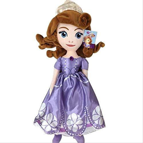 qwermz Jouets Mous De Peluche, Jouets Mous De Princesse Sofia De 70cm pour Le Cadeau d'enfants De Filles