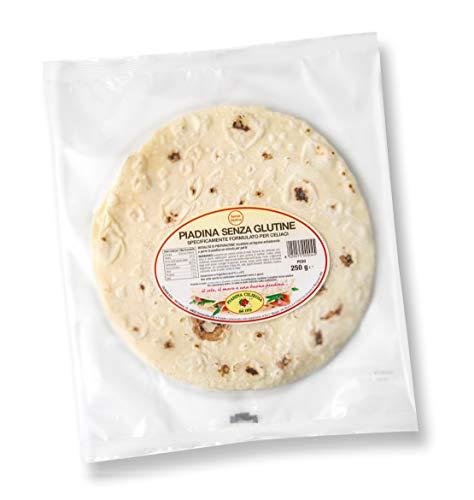 Pacco L : Piadina Senza Glutine 5 confezioni da 2 pezzi da 250 gr.