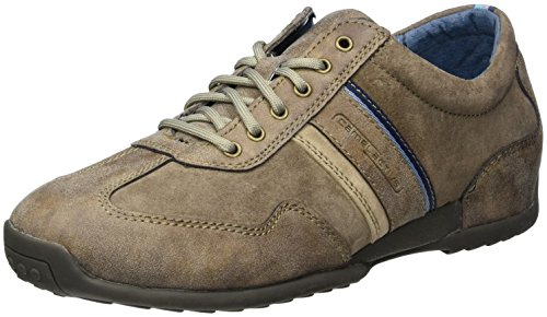 camel active Herren Space 27, Low-Top Sneaker, Braun (brown/peat/taupe 03), 47 EU (12 UK)