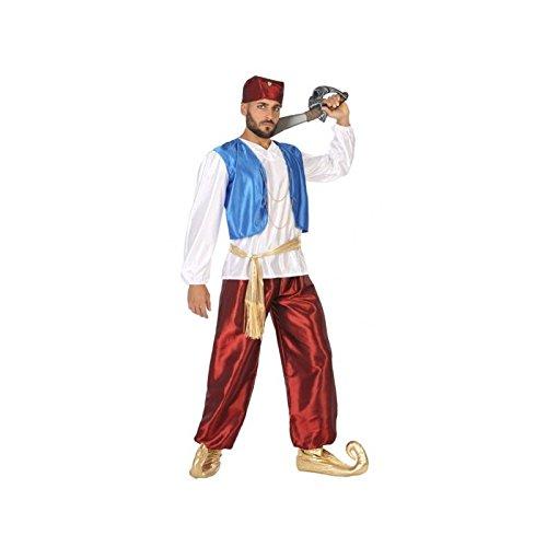 Atosa-96909 Disfraz Príncipe ÀRabe, color rojo, M-L (96909)