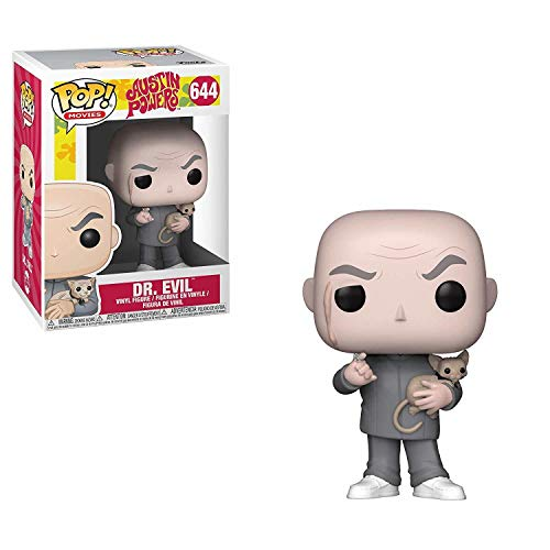 Funko Pop Movies: Austin Powers - Dr. Evil Collectible Figure, Multicolor