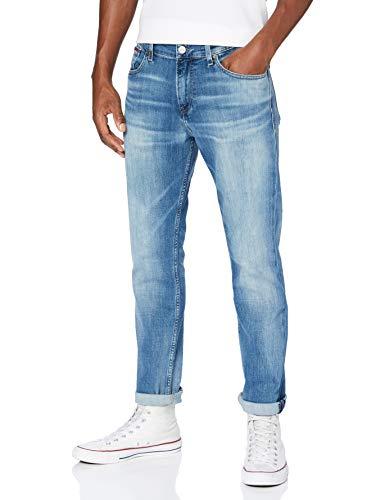 Tommy Jeans Hombre RYAN RLXD STRGHT PMBCF Pantalones, Portobello Mid Blue Comfort, W34 / L36